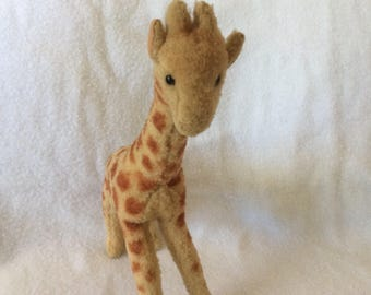 Giraffe, Vintage stuffed toy by US-Zone