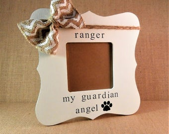 Dog memorial frame, pet loss gifts, dog sympathy gift dog loss