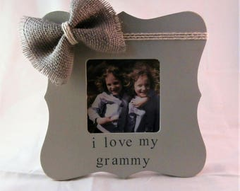 Mothers gifts for grammy Grandparents from granddaughter grandson, Grammie Grammy photo frame