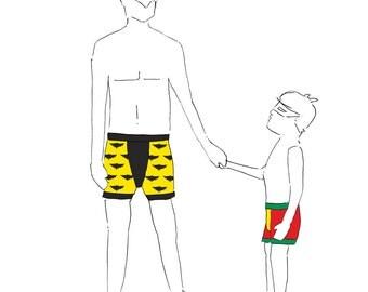 MBJM Superhero Boxers PDF Sewing Pattern (Adult XS - 5XL)