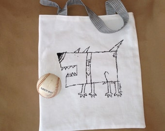 """Tote Bag - """"Muttly"""""""