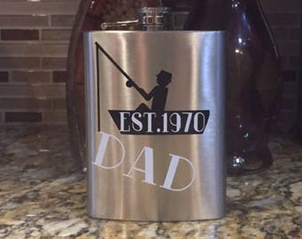 Custom Father's Day Flask