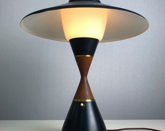 Rare danish table lamp by Svend Aage Holm Sørensen