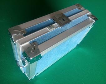 Ciak roncato Work suitcase small jeans vintage aluminium
