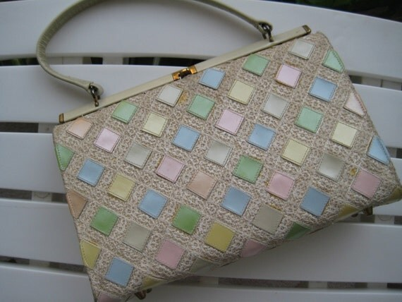 Pretty Pastel Kelly Bag by Stylecraft Miami