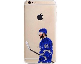 Stammer Hockey iPhone Case / Hockey Phone Case / Fits iPhone 5, iPhone 6, iPhone 7 / Handdrawn iPhone Case by DangleGear Co