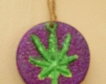 Weed Leaf Pendant