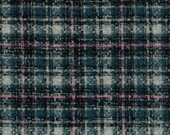 52894 Scottish Tweed Fabric 100% Pure Wool By The Metre