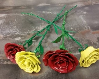 Handcrafted Steel Rose-The everlasting flower to show your love!