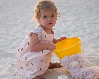 girls dresses, baby girl dress,spring outfit, pineapple dress,spring fashion, toddler dress,  pictures, baby girl, birthday outfit