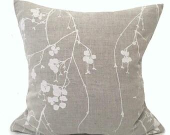 Designer Linen- Bedroom Throw Cushions- Bedroom Cushions- Natural Linen Pillow- Linen Home Decor- Natural Linen- Linen Throw Pillow