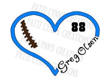 SVG Greg Olsen Heart