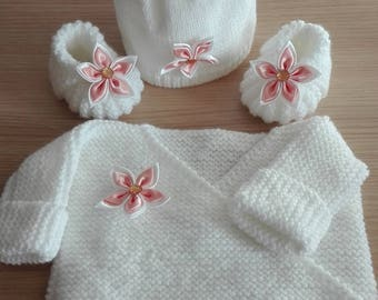 Whole baby bra slippers bonnet assorted