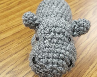 NEW LISTING**Cuddly Little Hippo Plushie