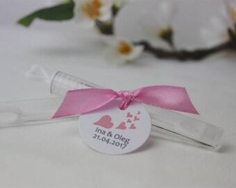 Give away Wedding Bubble