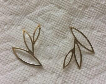 Argentium sterling silver handmade earrings