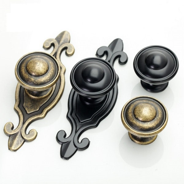 kitchen cabinet knobs with backplates dresser knobs handles drawer knobs pulls handles back plate 7872