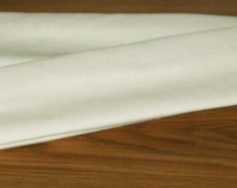 ivory offwhite cotton fabric cord cover variety of sizes