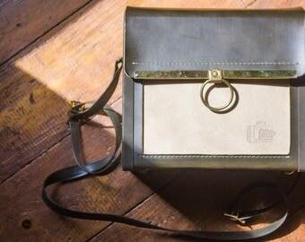 Vintage Camera Bag, Shoulder Bag, Kitchy