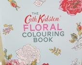Cath Kidston Floral Colouring Book for Adults, Adult Coloring book from Cath Kidston, Flower prints and  patterns to color
