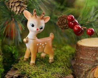 Fairy Garden  - Mini Reindeer - Miniature
