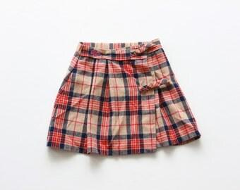 Vintage Izod Lacoste Wool Skirt Size 6