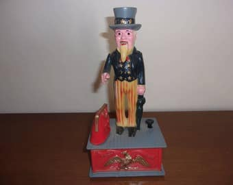 Vintage Uncle Sam Bank