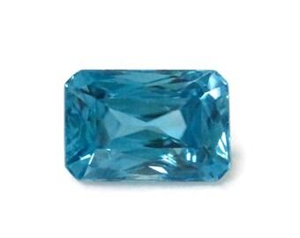 3.72 carat Blue Zircon Loose Stone