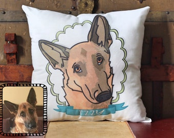 & Custom dog pillow   Etsy pillowsntoast.com