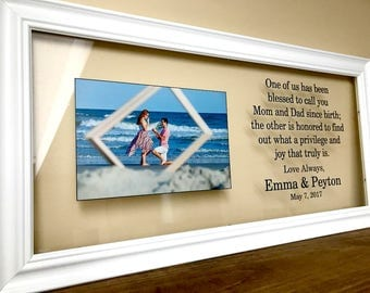 Wedding Gifts for Parents, Parents of the Bride Gift, Parents of the Groom Gift, Mother of the Groom Gift, Mother of the Bride Gift