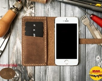 Leather Phone Case for iphone 5 wallet case, iphone 5 plus wallet case, leather iphone 5 case, leather iphone 5 plus case, iphone 5 case