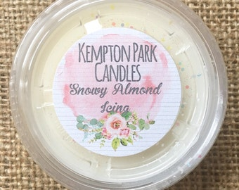 Snowy Almond Icing L*sh Dupe Scented Soy Wax Melt Pot