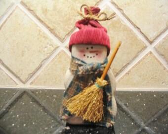 Chubby Snowman, Snowman decor, Snowman