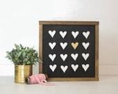 Heart Grid | DIY Pocket Insert Kit | Frame Not Included