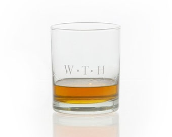 Personalized Tumbler / Whiskey Glass / Rocks Glass / Double Old Fasioned / Monogrammed Glass