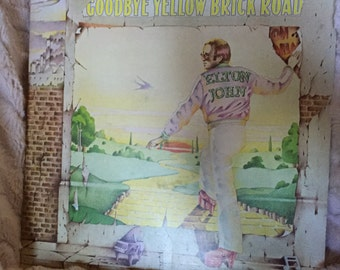 Original Good Bye Yellow Brick Road Album