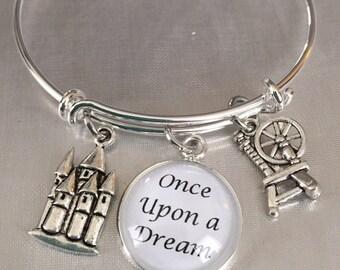 sleeping beauty bracelet Once upon a dream bracelet