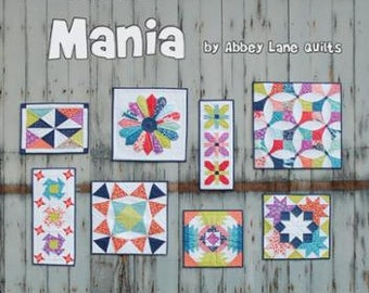 Mini Mania Book by Abbey Lane Quilts