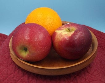 Inventory Reduction Sale - Turned Cherry Platter or Bowl