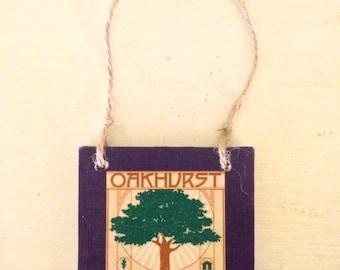 Oakhurst Neighborhood Ornament -Atlanta, Georgia - Hostess Gift