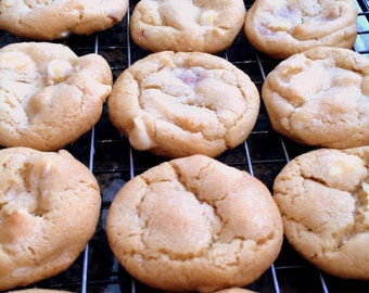 Salted Caramel White Chocolate Cookie
