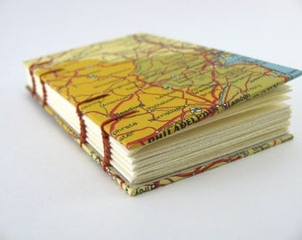 Map Mini Notebook