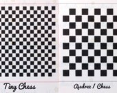 TINY CHESS & CHESS (sold separately)