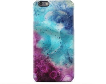 Watercolor iPhone 6 Case, iPhone 6S Case, iPhone 6 Plus Case, iPhone 5 Case, iPhone 5S Case, iPhone 5C Case, Samsung Galaxy Case S5, S6, S7