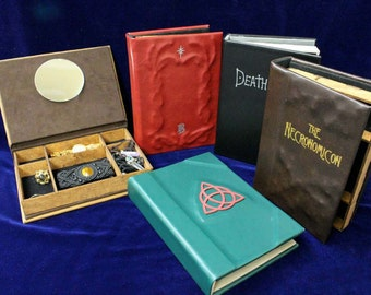 Charmed Book Of Shadows Jewelry Box – Hollow Book Replica Box (Inspired by Charmed)