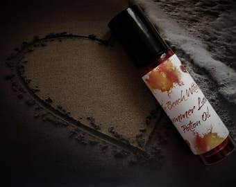 SUMMER LOVE Roll On-Oil,  Potion, Spell Oil, Ritual Oil, Anointing Oil, Fragrance Oil, Wicca, Witchcraft, Hoodoo ~ The Beach Witch ~ 1/3 oz