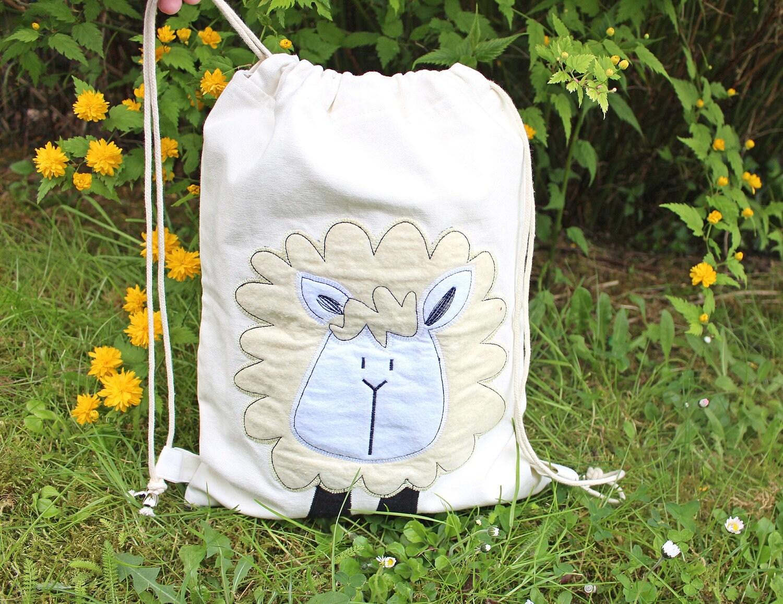 funny gift for child drawstring backpack toddler drawstring bag