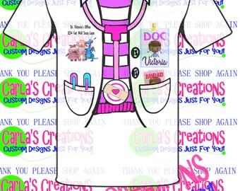 Doc McStuffins Inspired Lab Coat t-shirt