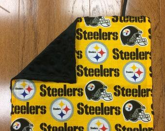 Pittsburgh Steelers Pacifier Blanket