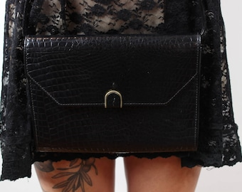 Black pouch vintage bag